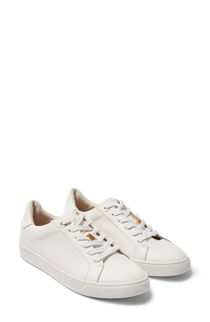 Topshop Cabo Low Top Sneaker In White
