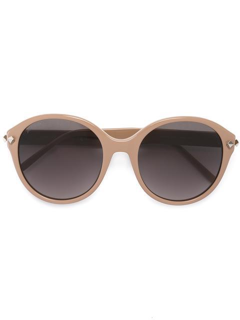 Jimmy Choo Eyewear Mores Sunglasses - Brown