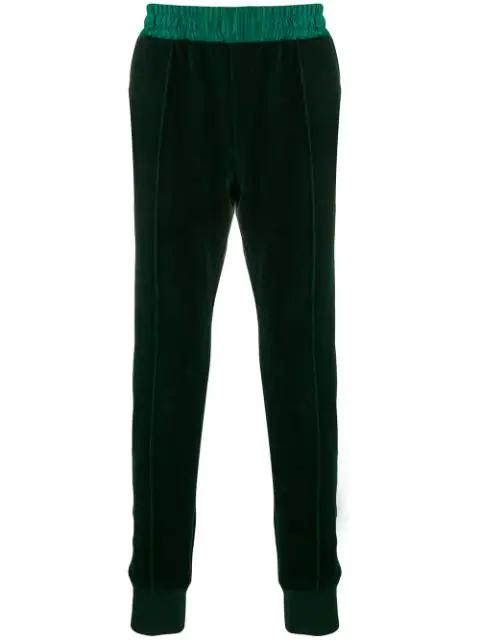 Haider Ackermann Elasticated Waist Trousers In 048 Green