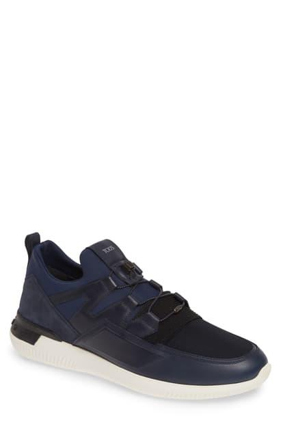 Tod's Men's No Code Sport Trainer Sneakers In Blue / Multi