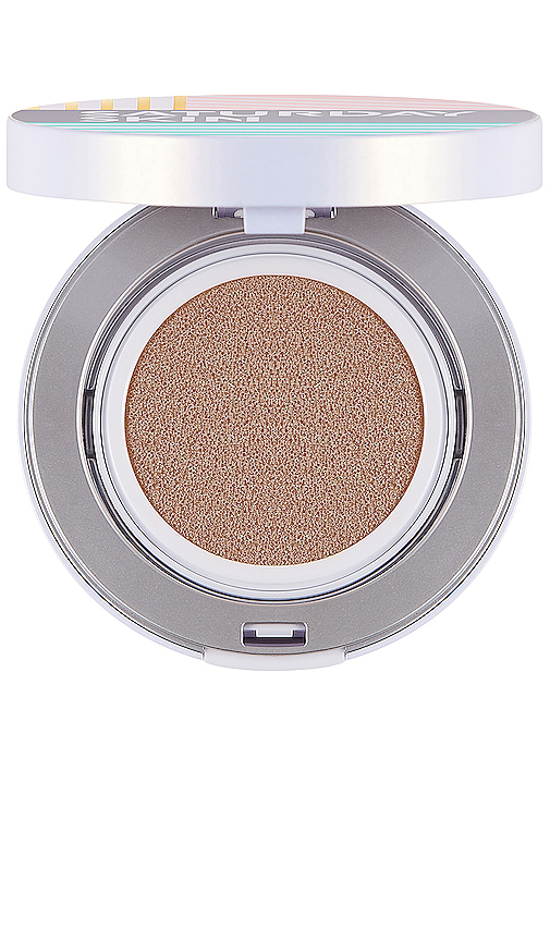 Saturday Skin All Aglow Sunscreen Perfection Cushion Compact Spf 50 - 06 Goldie