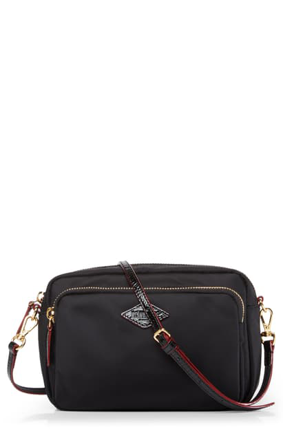Mz Wallace Small Grammercy Crossbody Bag In Black