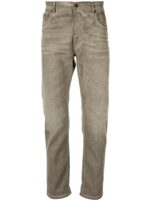 Dondup Gerade Jeans In Brown