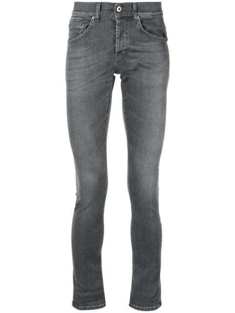 Dondup Skinny Jeans In Grey