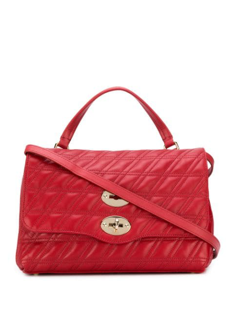 Zanellato Postina Tote Bag In Red