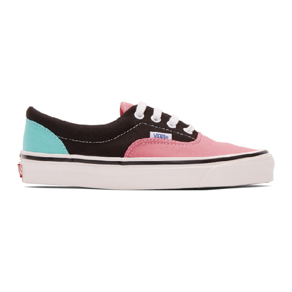 Vans Era 95 Dx Sneakers In Blk Pink