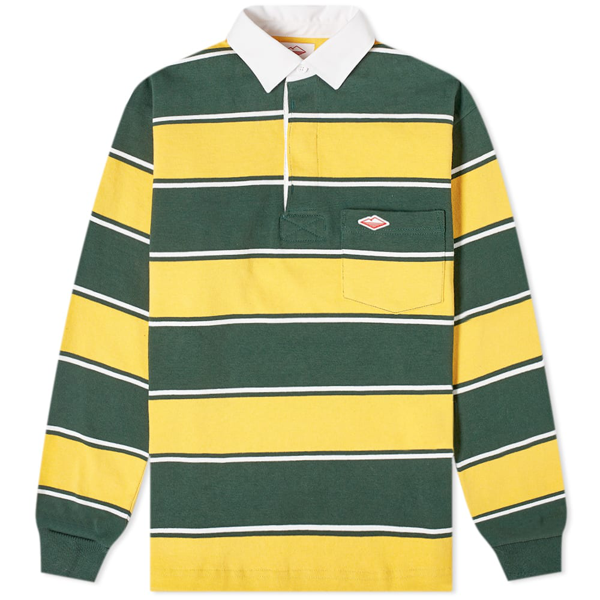 Battenwear Pocket Rugby Shirt In Yellow