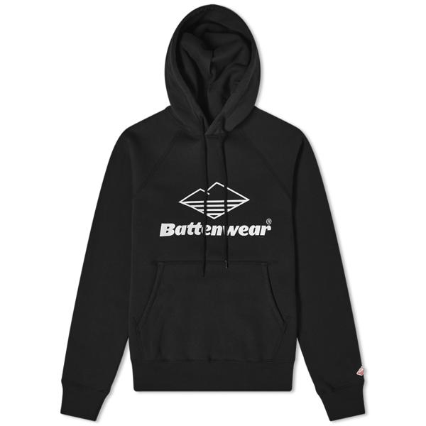 Battenwear Team Reach Up Hoody In Black