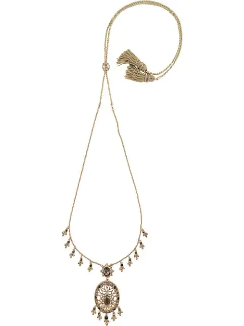 Marchesa Notte Sweet Soiree Pendant Necklace In Gold