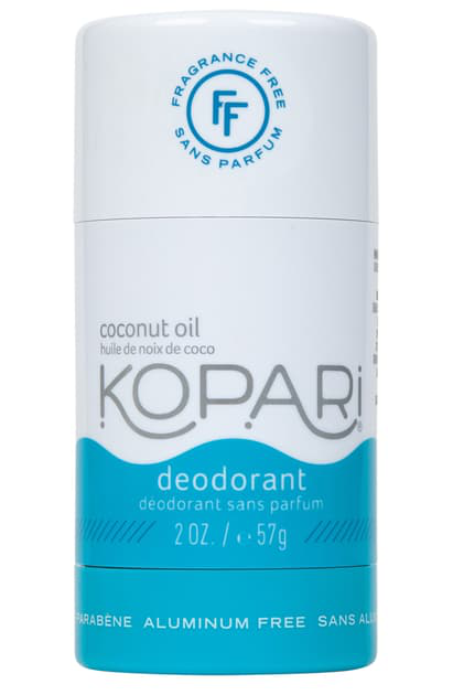 Kopari Natural Coconut Fragrance Free Deodorant, 2 oz