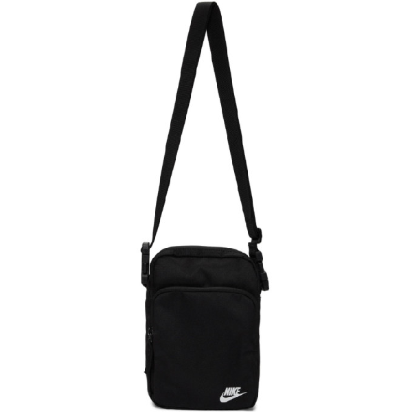 Nike Black Heritage Smit 2.0 Messenger Bag In 010 Blackwh