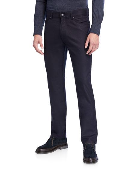 Ermenegildo Zegna Men S 5 Pocket Straight Leg Jeans In