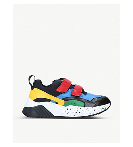 Stella Mccartney Eclypse Panelled Faux-Leather Trainers In Mult/Other