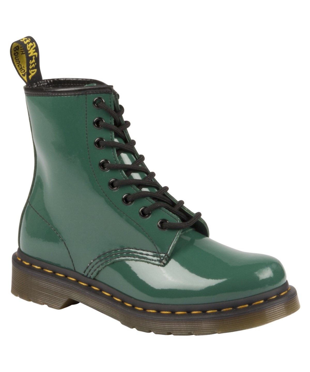 Dr. Martens Dr. Marten's 1460 Leather Boot' In Green Smooth