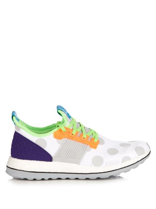 745cbcf17 Adidas By Kolor Pure Boost Low-Top Trainers In White Multi