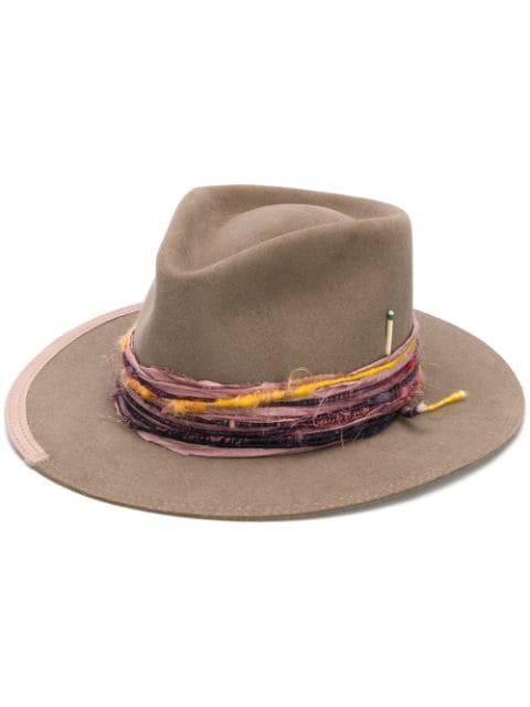 Nick Fouquet Banyan Hat In Neutrals