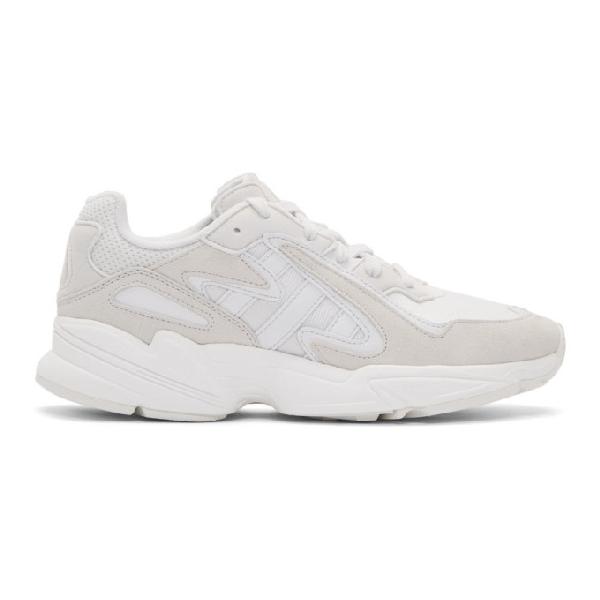 Adidas Originals Yung Chasm In White