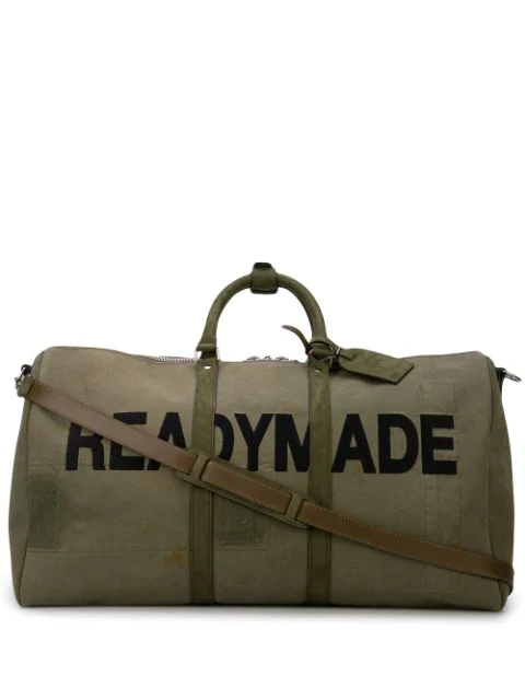 Readymade Logo Holdall In Green