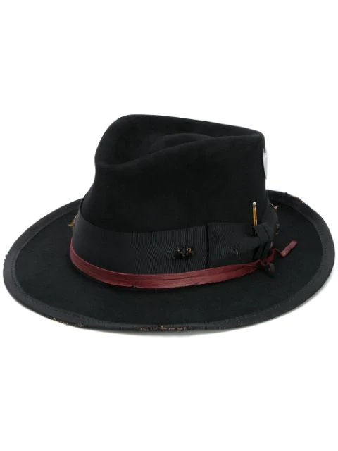 Nick Fouquet Root Rail Hat In Black