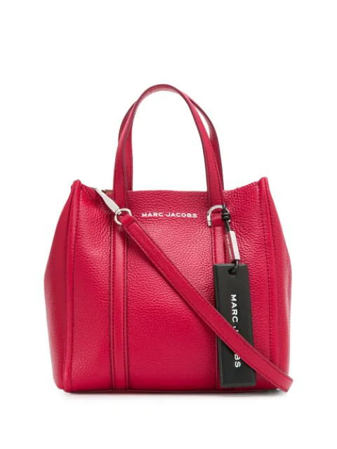 Marc Jacobs The Tag Tote 21 Bag In Red
