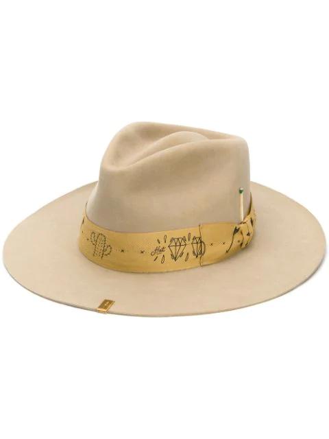 Nick Fouquet Ocala Hat In Neutrals