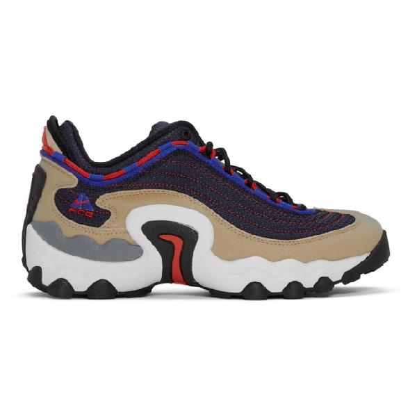 Nike Acg Air Skarn Sneakers In 200 Sandrac