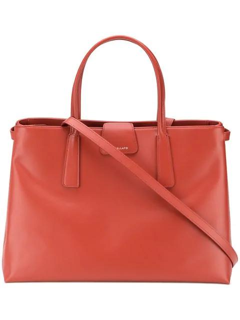 Zanellato Duo Metropolitan Shopping Bag In 37 Terra Battuta