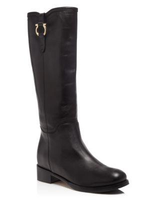 Salvatore Ferragamo Bloomingdale's Exclusive Fersea Boots In Black