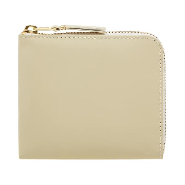 Comme Des GarÇOns Comme Des Garcons Sa3100 Classic Wallet In White