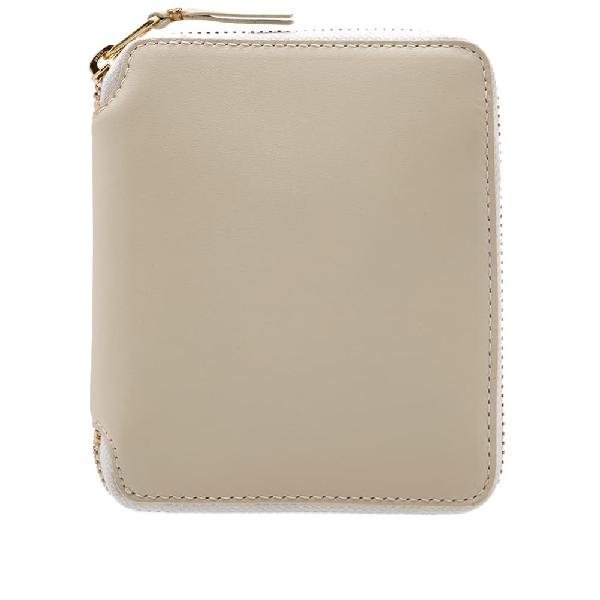 Comme Des GarÇOns Comme Des Garcons Sa2100 Classic Wallet In White