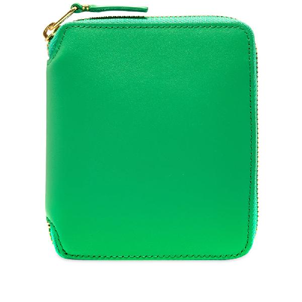 Comme Des GarÇOns Comme Des Garcons Sa2100 Classic Wallet In Green