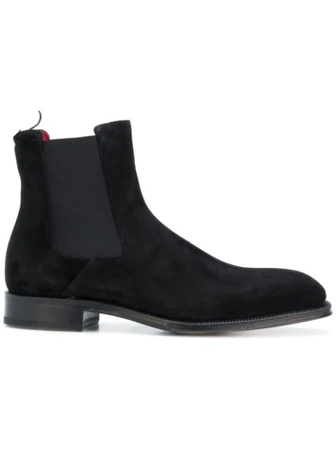 Alexander Mcqueen Goodyear Chelsea Boot In 1000 Black