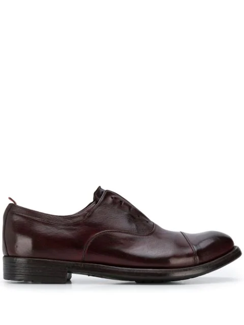 Officine Creative Lace Up Shoes Exeter In Purple