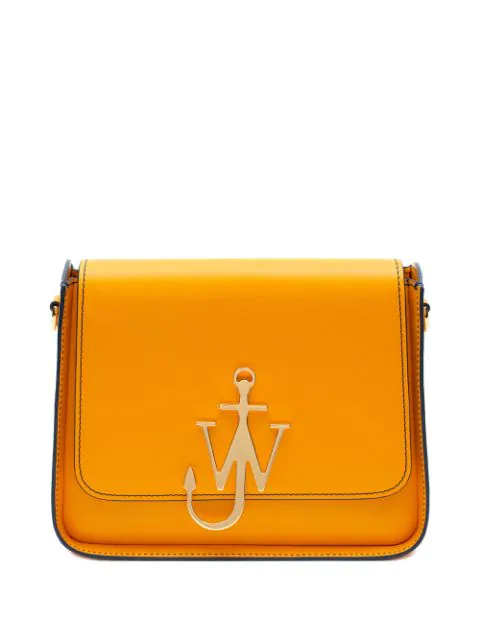 Jw Anderson Anchor Logo Box Bag In 413 Yellow
