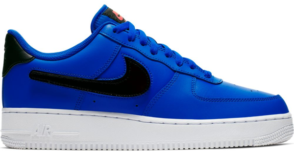 Pre-owned Air Force 1 Low Removable Swoosh Pack Blue In Racer Blue/vapor Green-black-white
