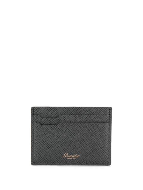 Pineider Compact Logo Cardholder In Black