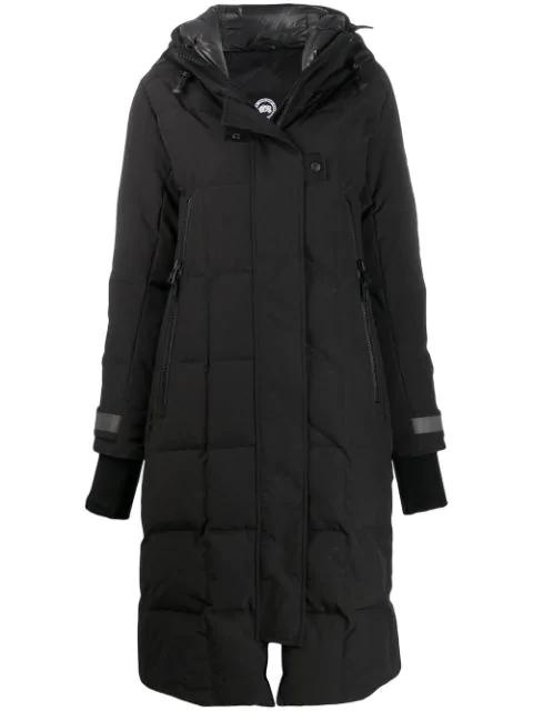 Canada Goose Elmwood Padded Coat In 61 Black Noir