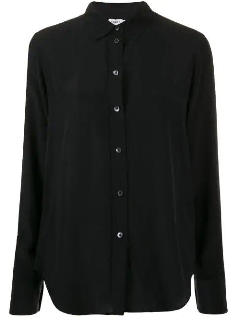 Filippa K Sandie Oversized Shirt In Black