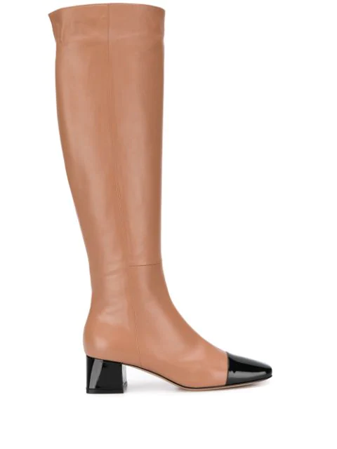 Gianvito Rossi Knee High Boots In Black