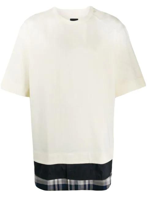 Juun.j Layered T-shirt In 01 White