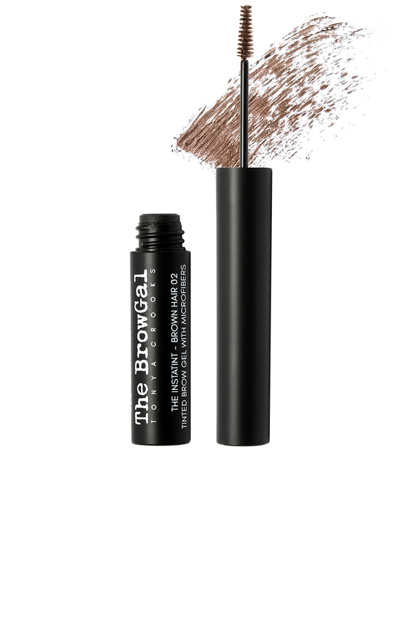 The Browgal Instatint Tinted Brow Gel With Microfibers In Brown Hair 02