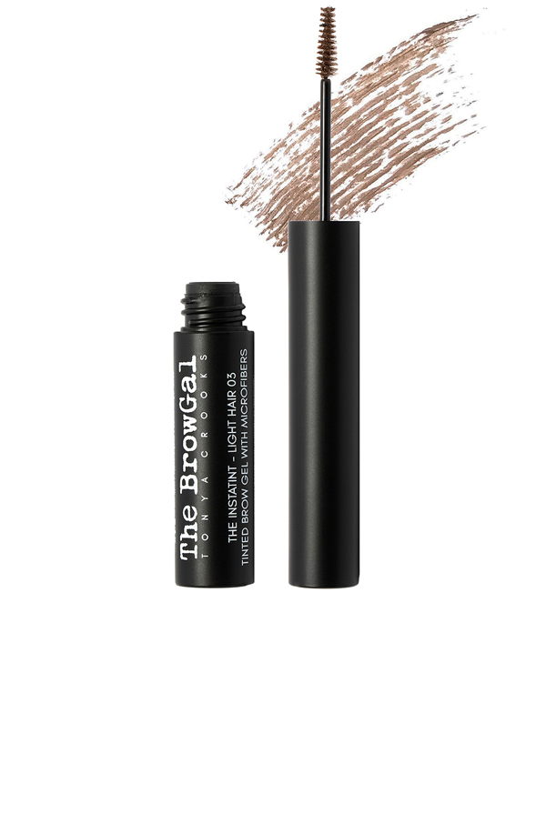 The Browgal Instatint Tinted Brow Gel With Microfibers In Light Hair 03