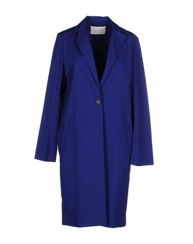 Cedric Charlier Full-length Jacket In Bright Blue
