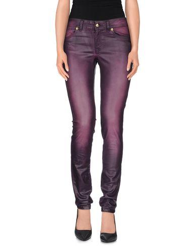 Just Cavalli Denim Pants In Purple