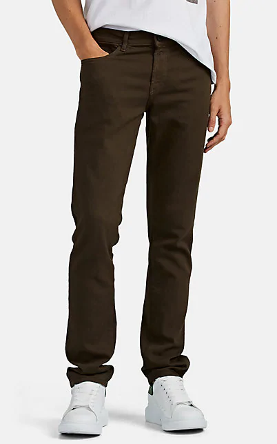 J Brand Men's Tyler Slim-Fit Jeans - Seriously Soft Stretch Twill In Olive