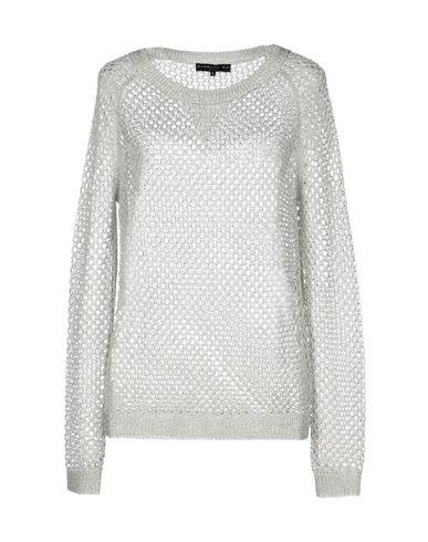 Barbara Bui Long Sleeve Sweater In Light Grey