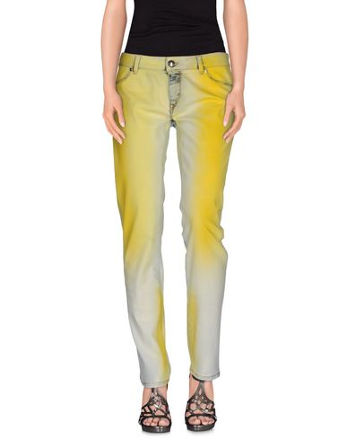 Just Cavalli Jeans In Yellow