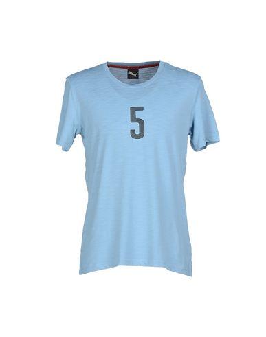 Puma T-shirts In Pastel Blue