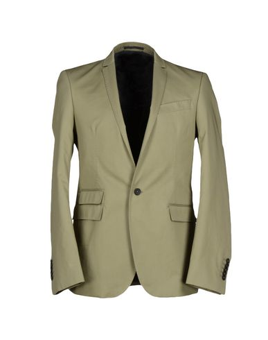 Les Hommes Blazers In Military Green