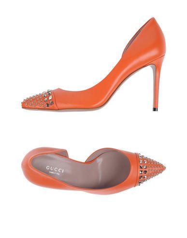 Gucci Pumps In Orange